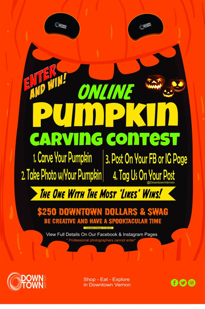 Pumpkin Carving Contest Poster 2021