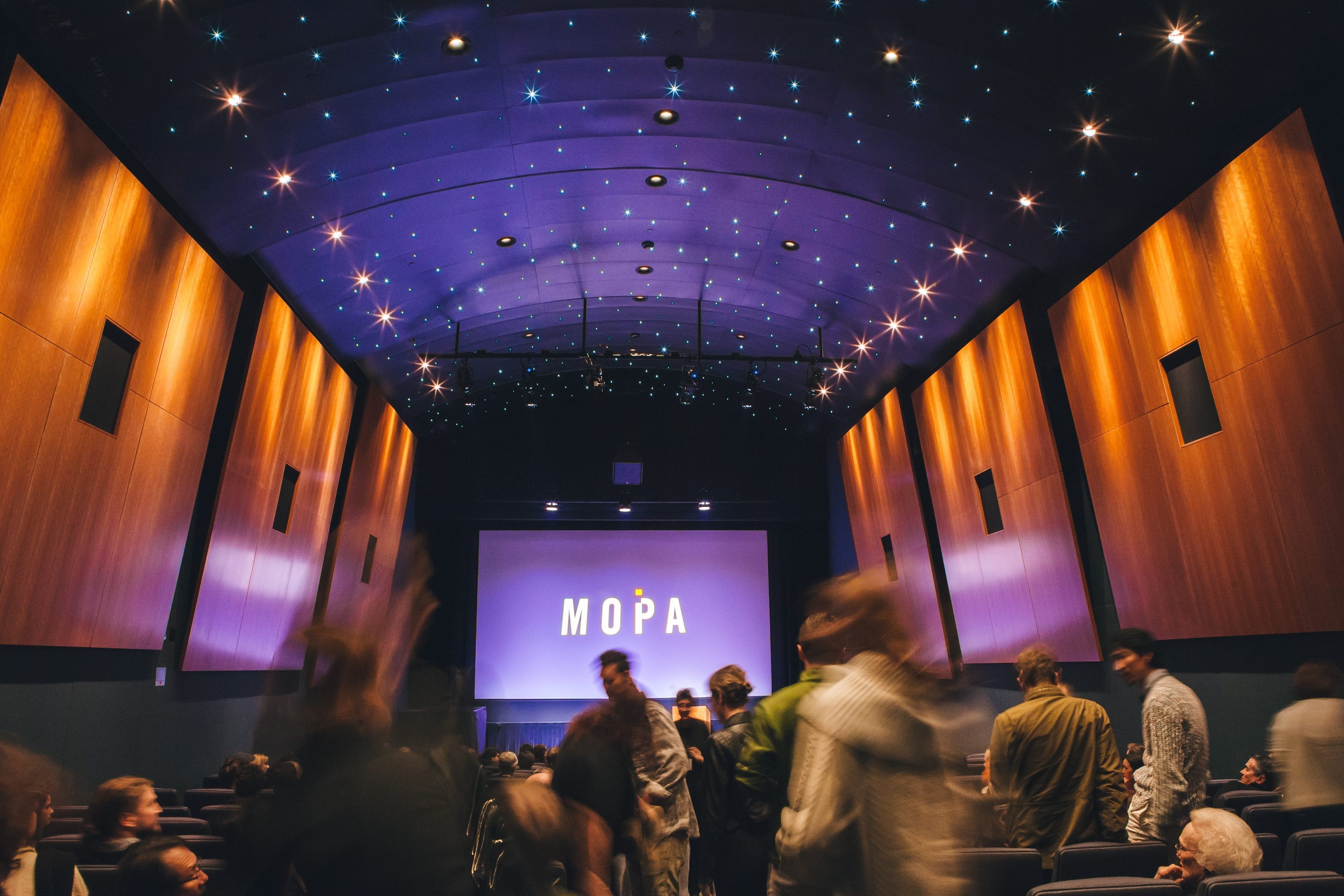 The Museum of Photographic Arts (MOPA) puts on regular film festivals and other landmark film showings. (Courtesy MOPA)