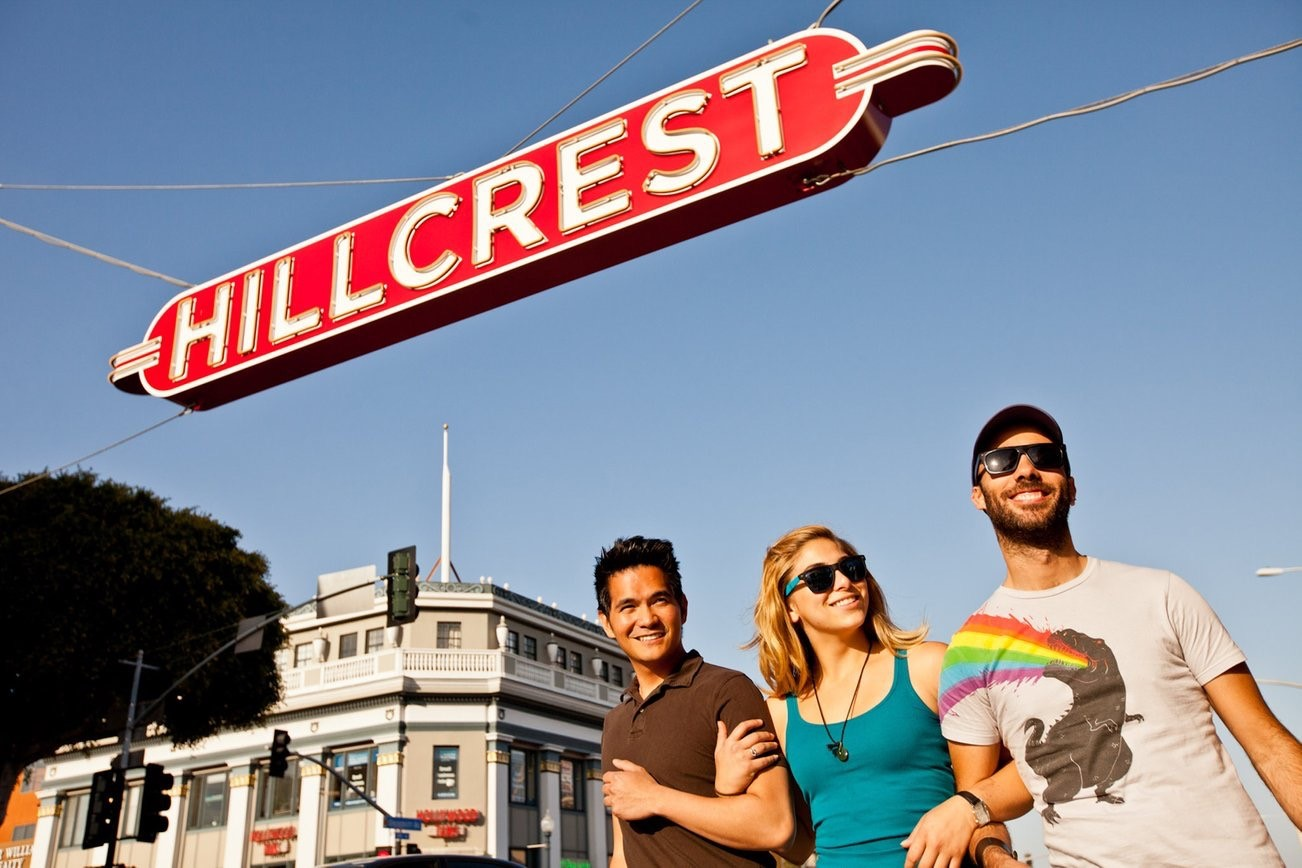 Hillcrest has plenty of shopping locales for your every need.