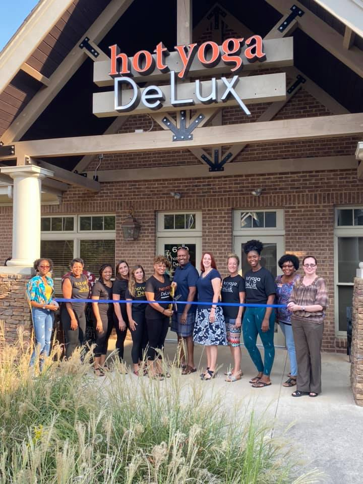 Hot Yoga DeLux Ribbon Cutting