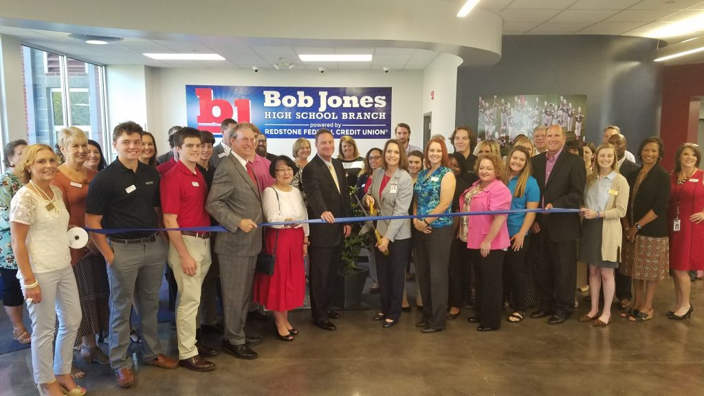 Redstone Student Branch at Bob Jones High School Opening