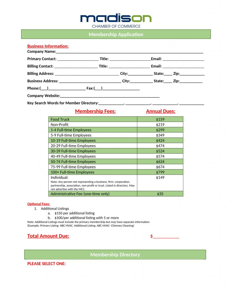 Membership Application PDF-1