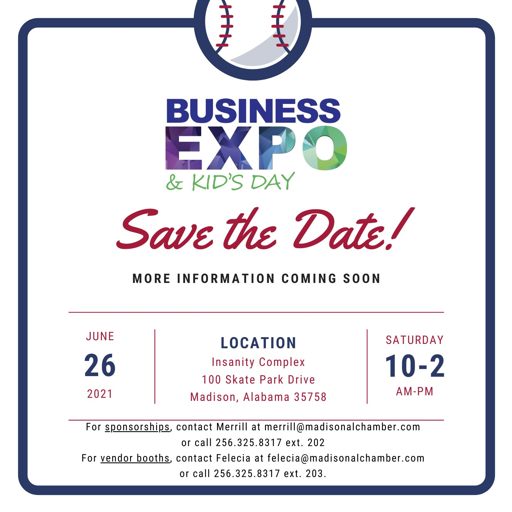 Business Expo Save the Dateupdate
