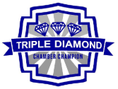 Triple Diamond Badge