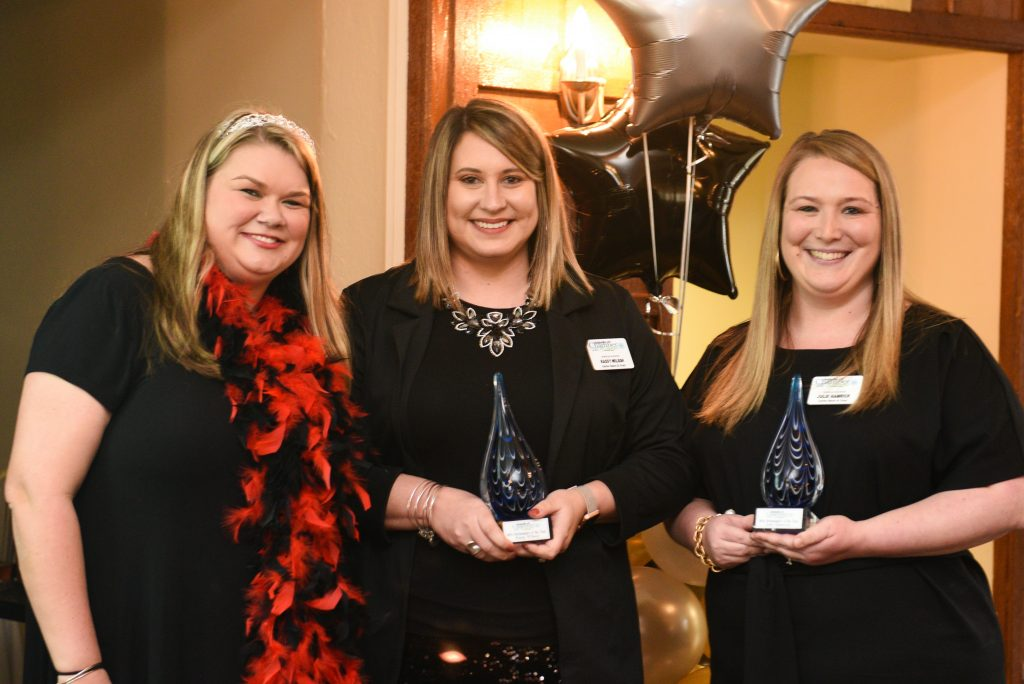 2018 Ambassadors of the Year, Kassy Wilson and Julie Hamrick, Carter Bank and Trust