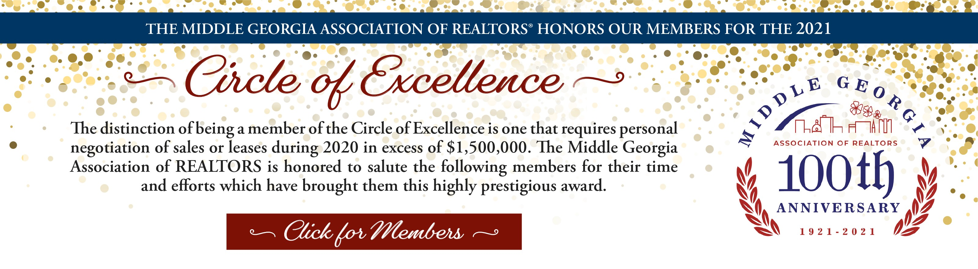 2021 Circle of Excellence Members