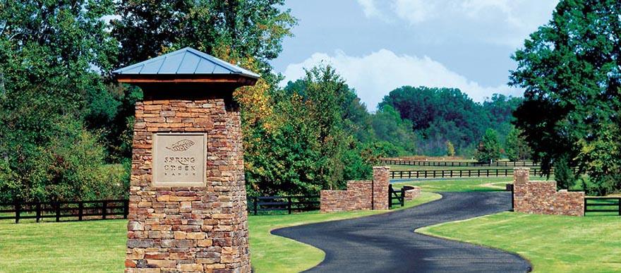Entrance to Spring Creek Ranch