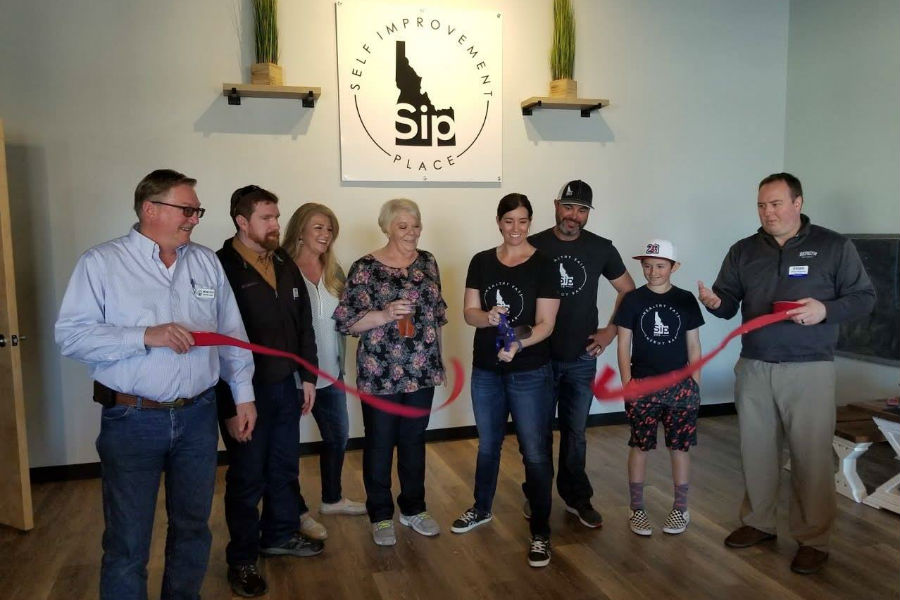 SIP ribbon cutting