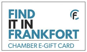Help the small business that make your community unique by spending locally. When you purchase a community Find it in Frankfort E-Gift Card significantly more of your money stays in your local economy and supports community groups.