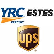 YRC ESTES UPS