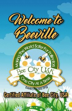 Certified Affiliate of Bee City USA
