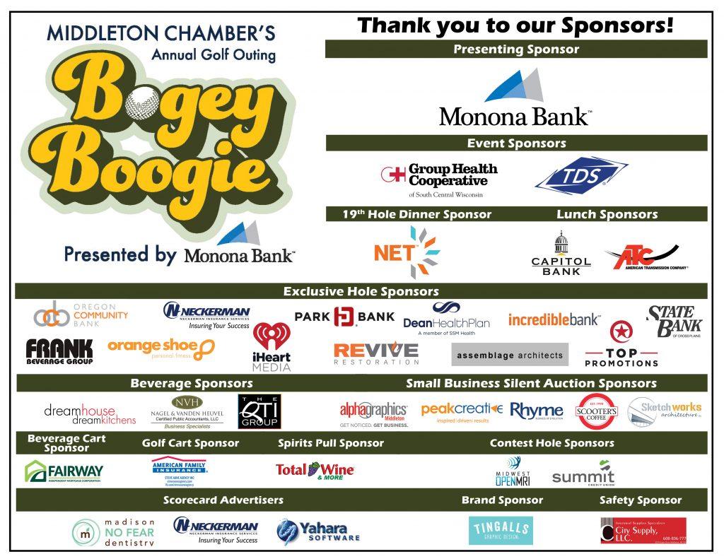 Flyer with sponsor logos - horizontal v7