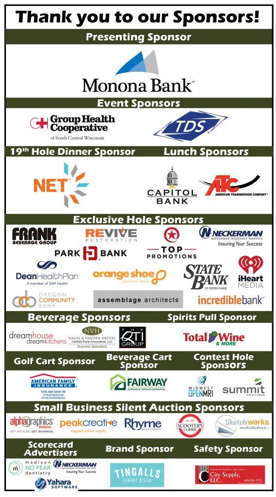 Flyer with sponsor logos v7