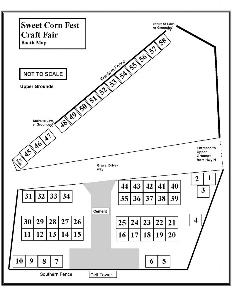 craft show map