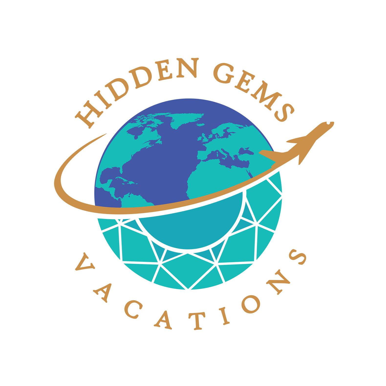 Hidden Gems - logo art