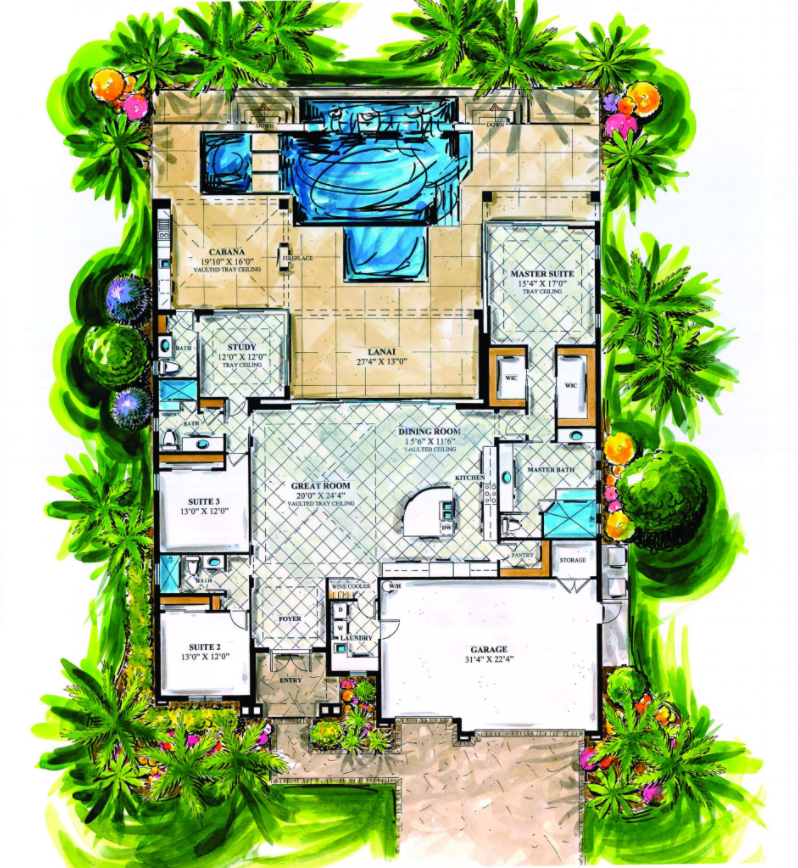 Windward Makani Floorplan