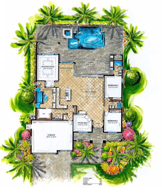 Arnold Roberts Savannah Grand Floorplan