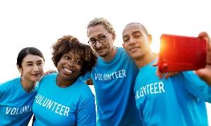 Volunteers transparent