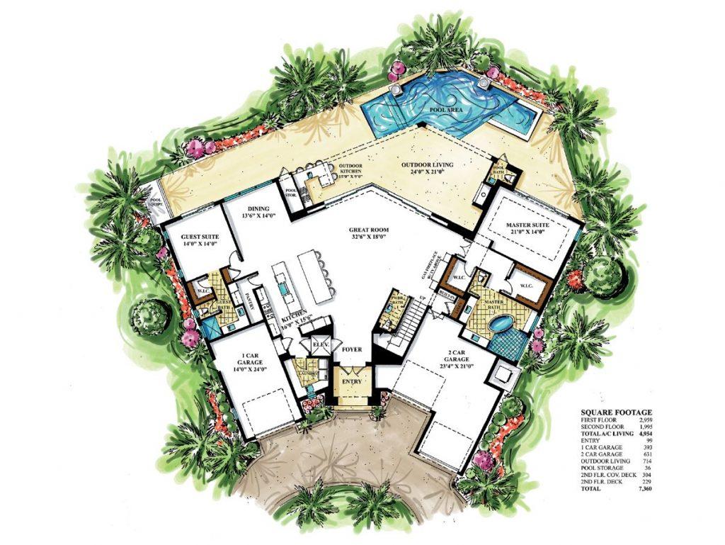 Revised Divine First floor rendering