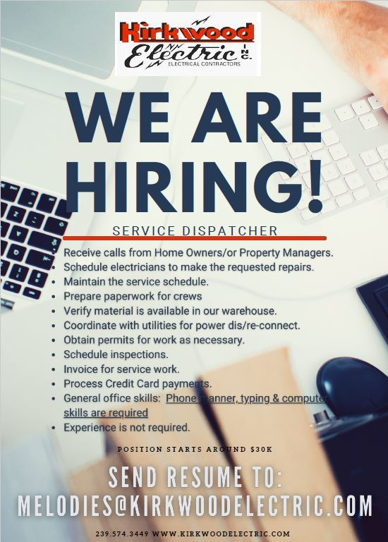 Are you hiring?  We will share with other members.