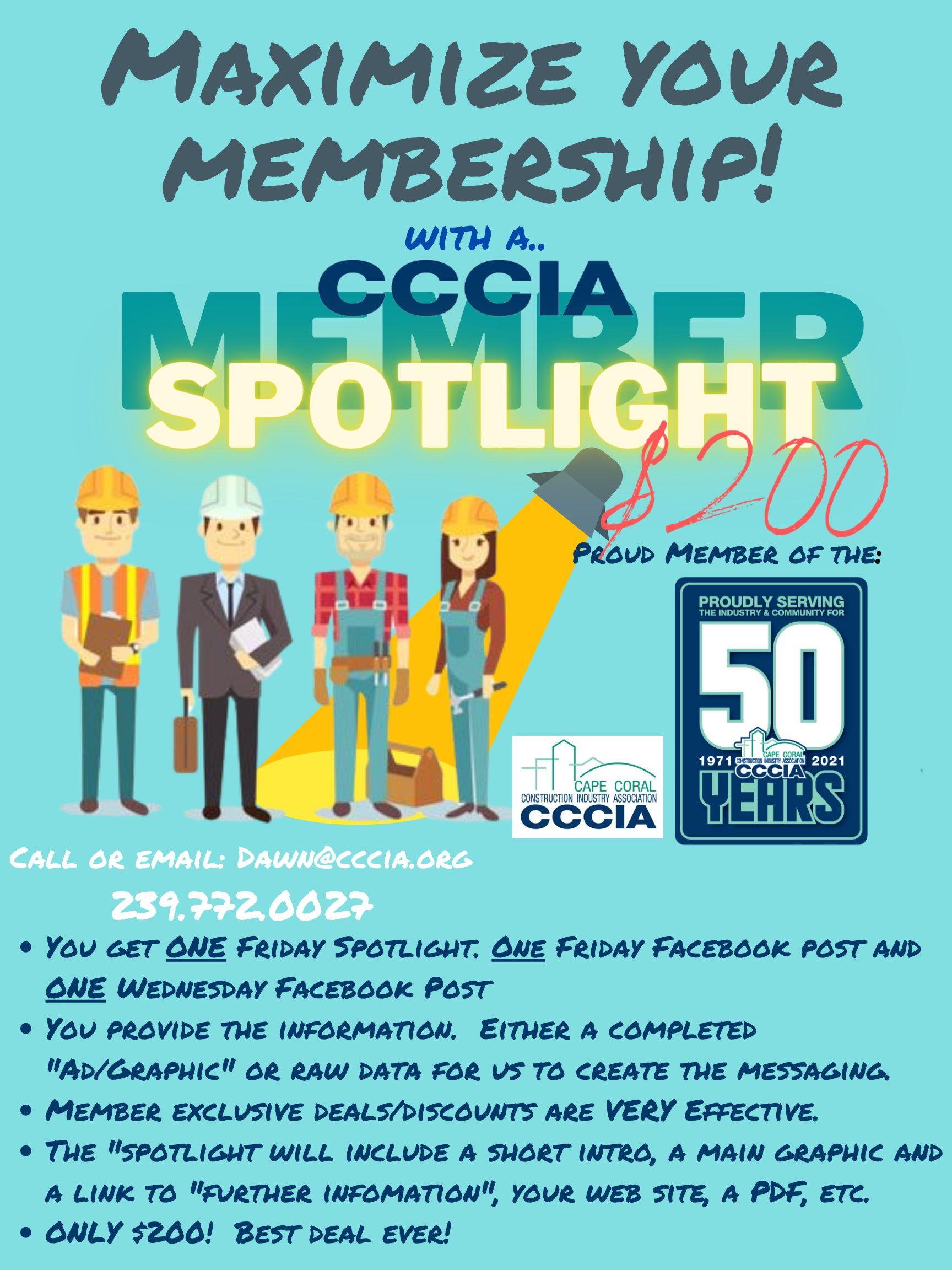 Member Spotlight only $200!