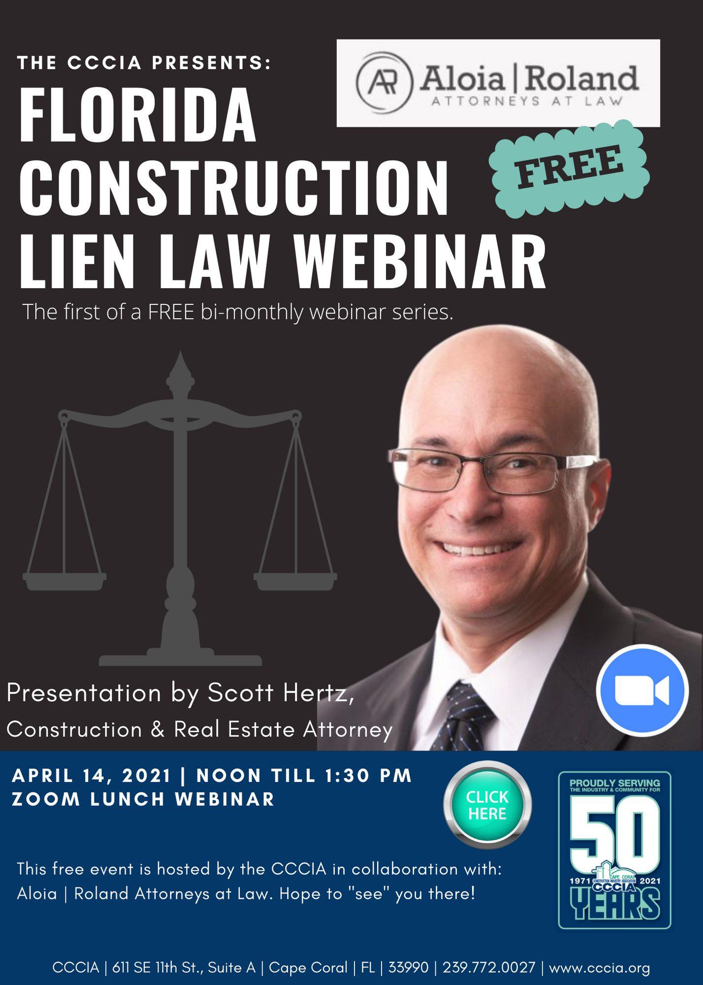 FL Construction Lien Law Image