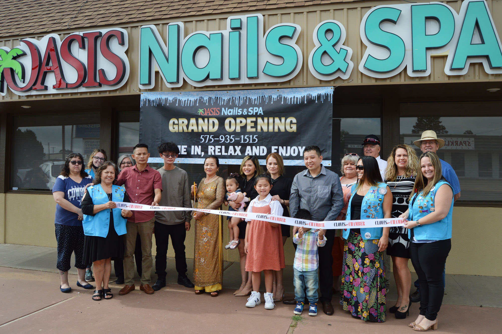 Tuesday, July 6, 2021 - Oasis Nails & Spa, 501 Commerce Way #A