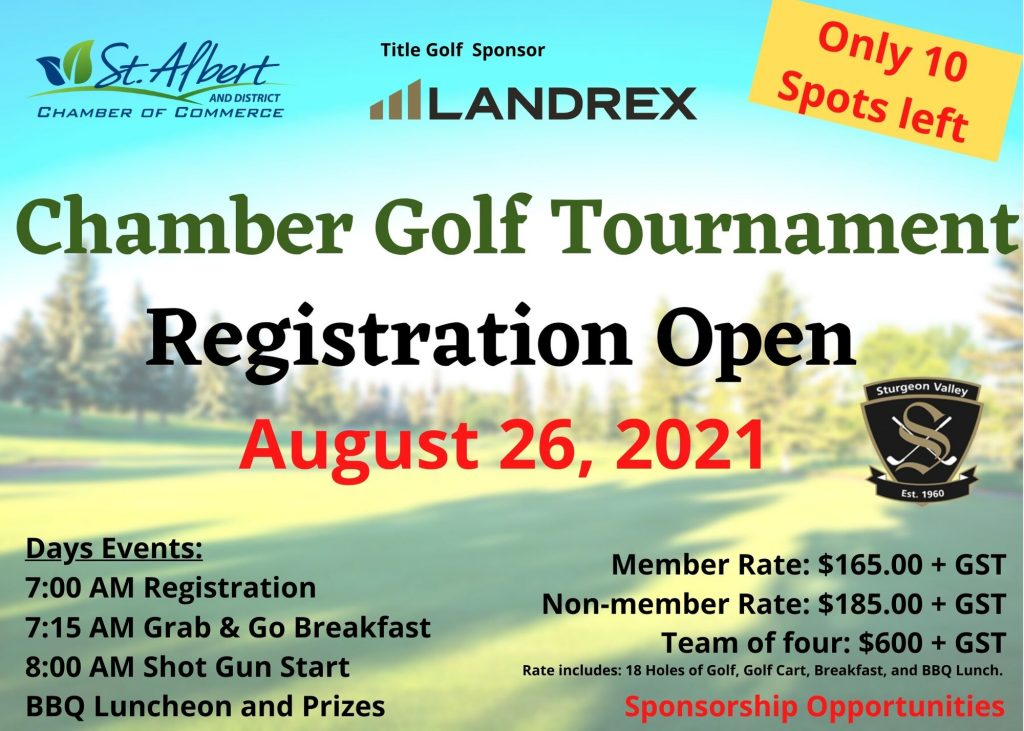 Golf Event page- Only 10 spots