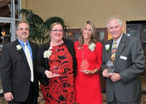 Pictured R-L: Mark Martella, Donna Barrett, Wendy Atkinson, Jack Hackett