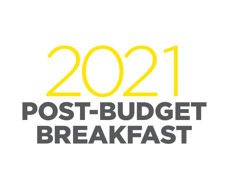 Post-Budget Breakfast logo 2021