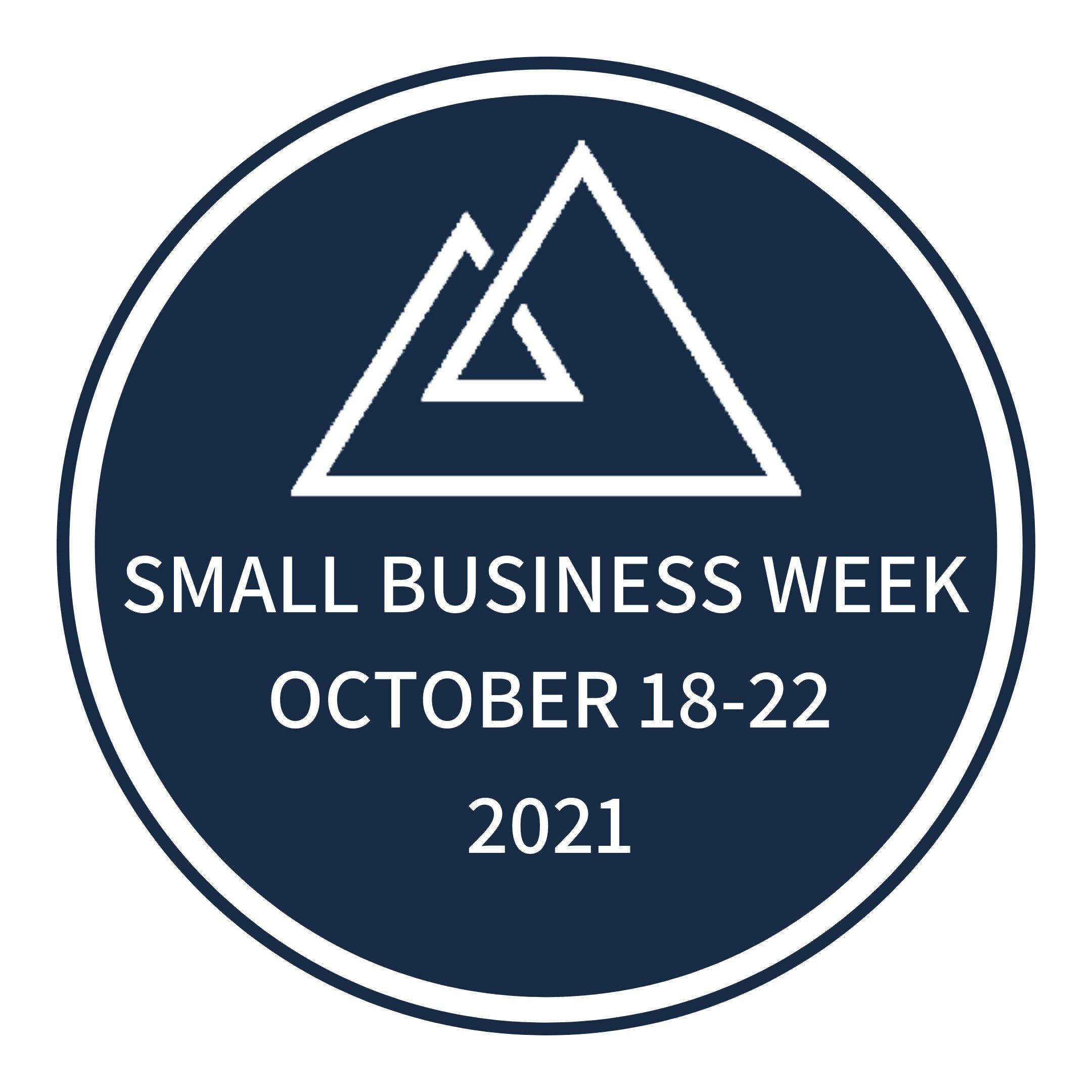 2021 Small Business Week Logo