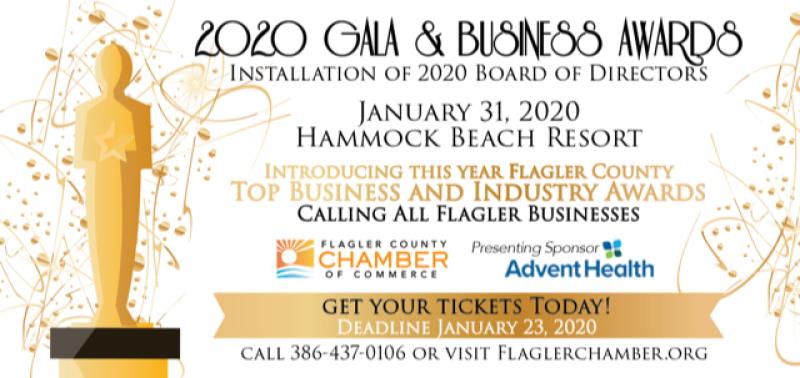 Gala & Business award flyer