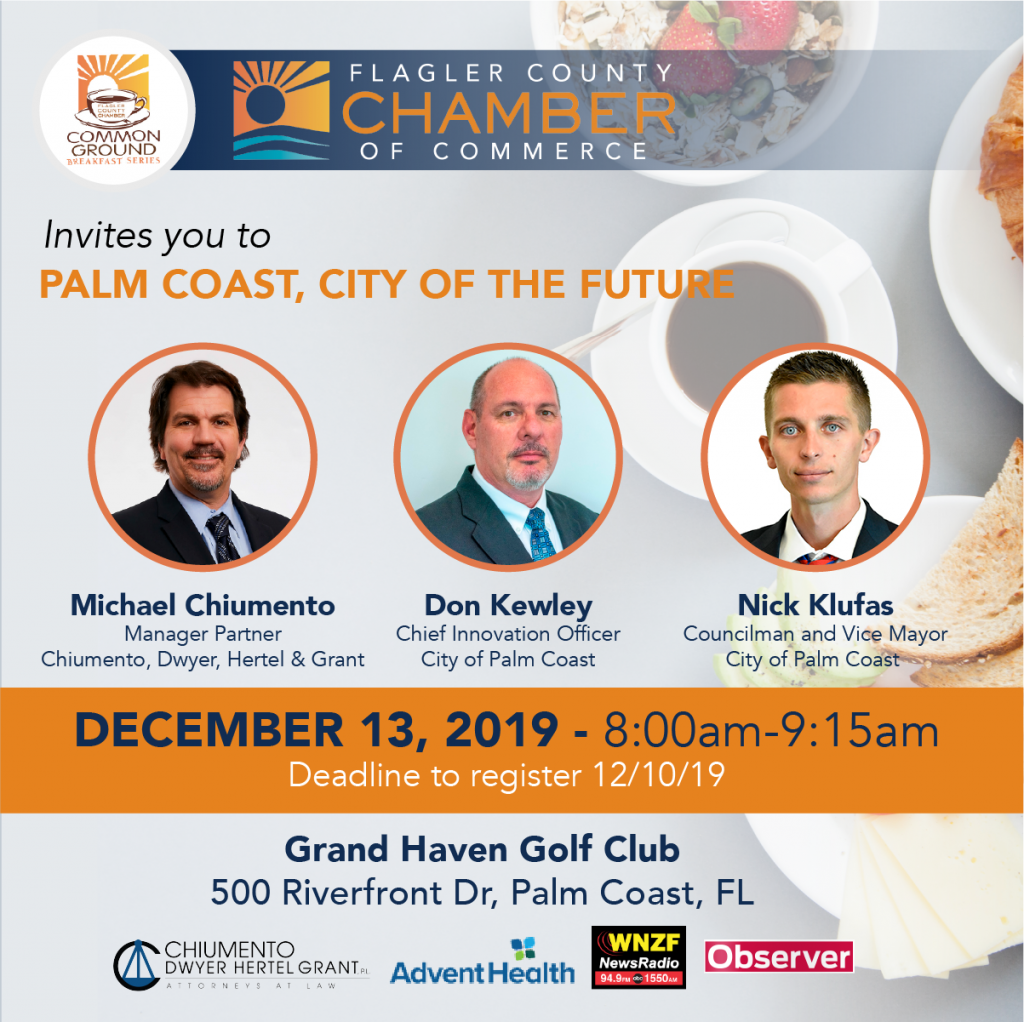 December 2019 Common Ground Breakfast flyer