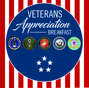 Veterans Appreciation Breakfast logo