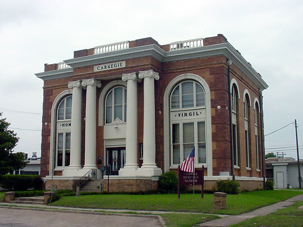 Carnegie Building; Terrell Heritage Museum