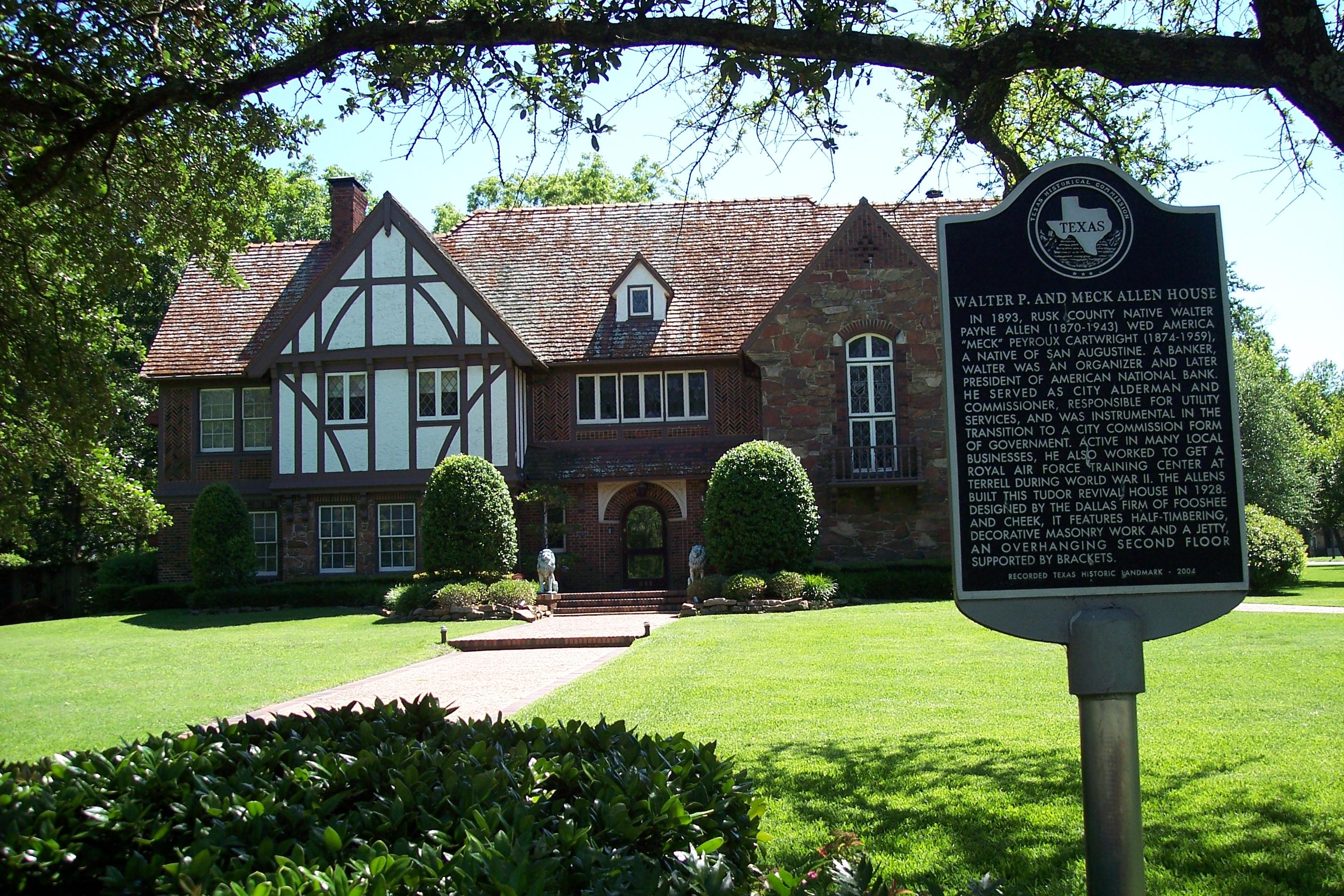 Walter Allen House, Terrell, TX