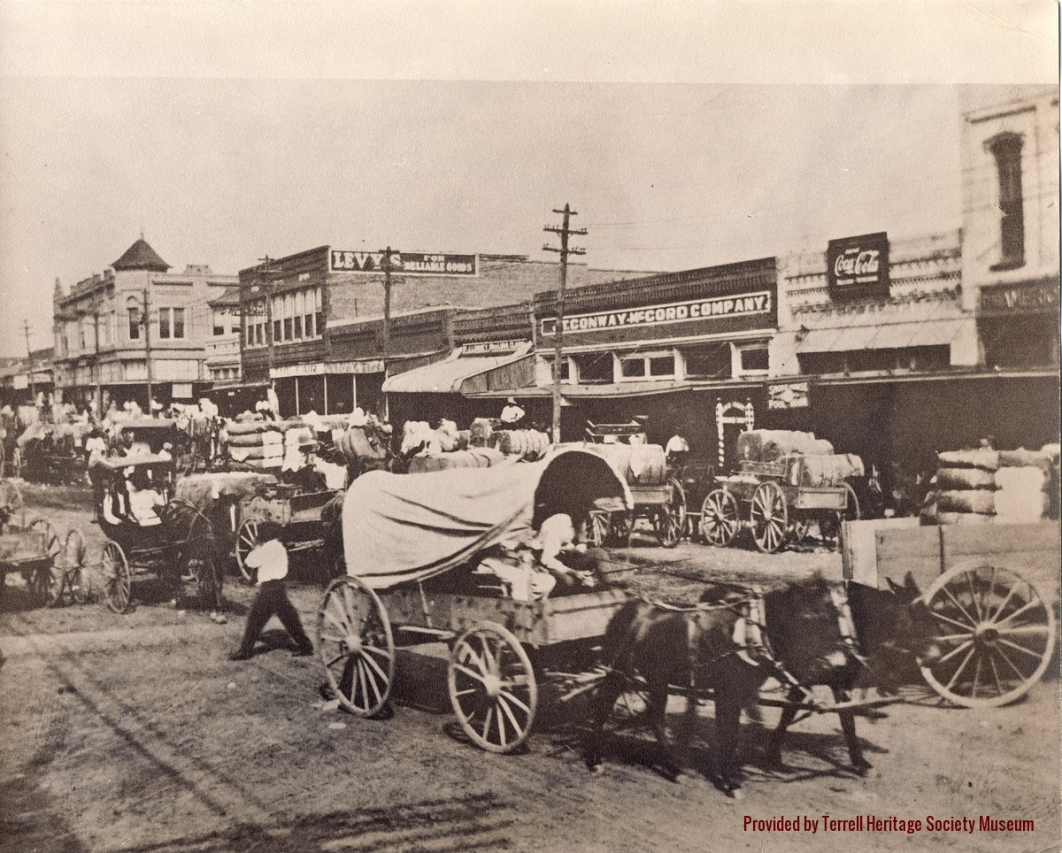 Terrell TX downtown 1880s