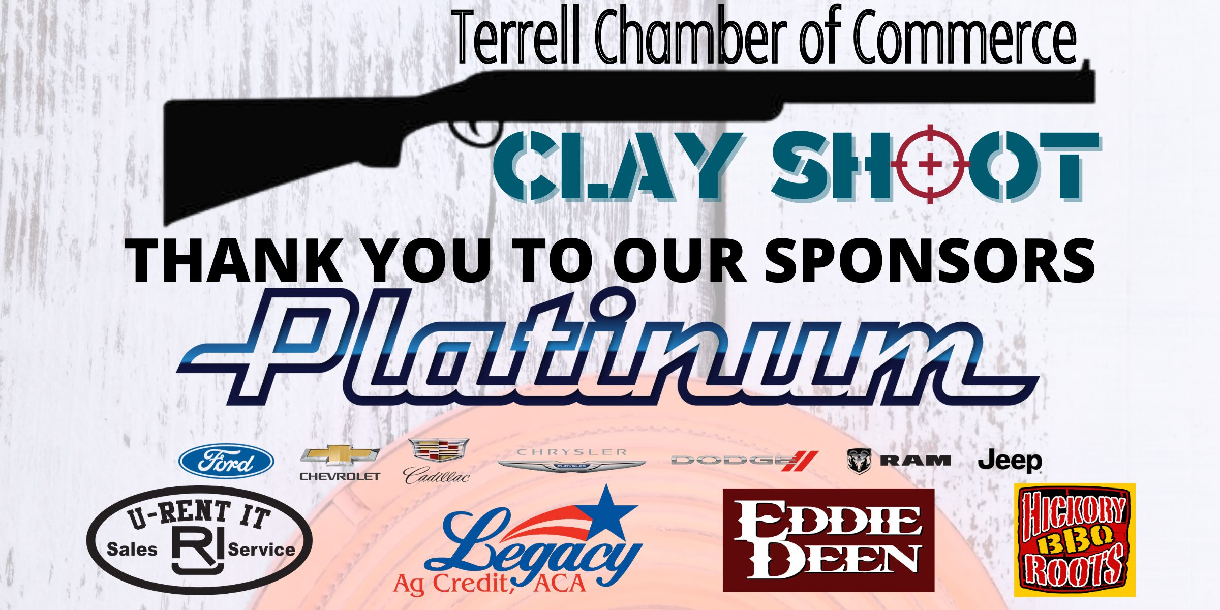 Clay Shoot Sponsors Web Graphic