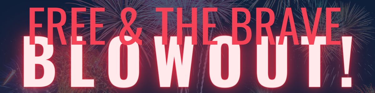 4th of July Landing Page Header