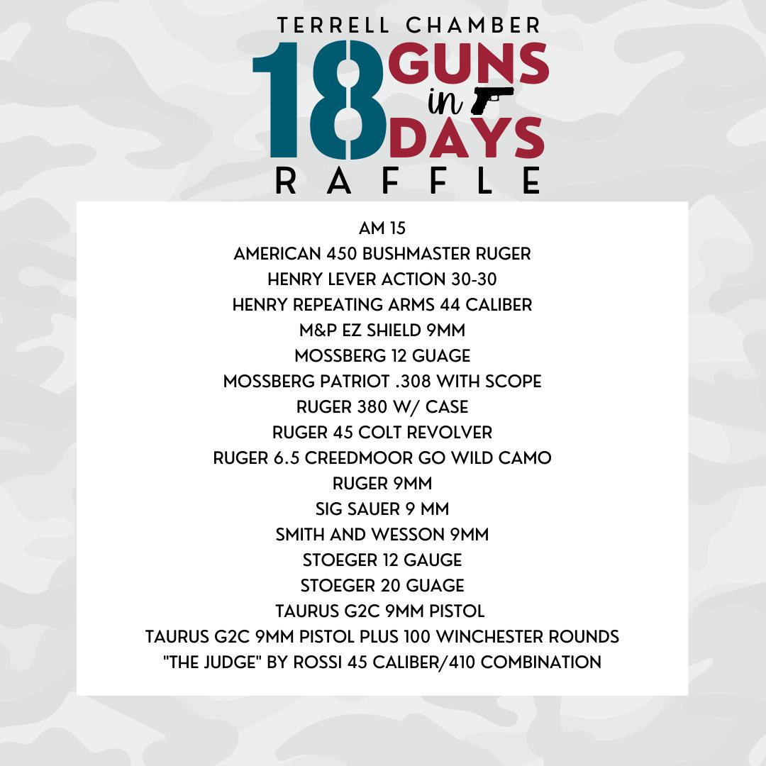 Gun Raffle List
