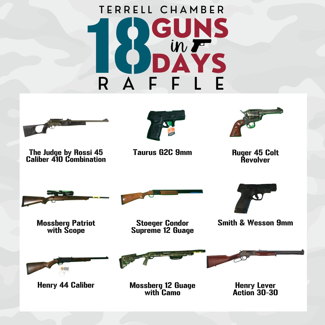 Pictures of Raffle Guns - 1