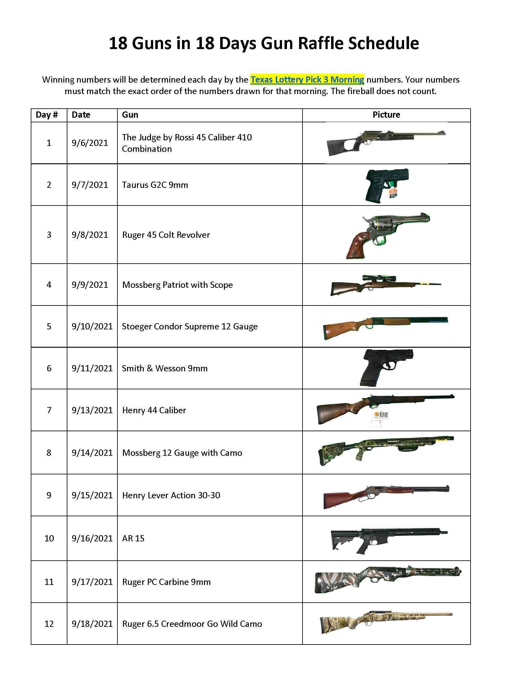 18-Guns-Raffle-Schedule - REVISED no Sundays_Page_1