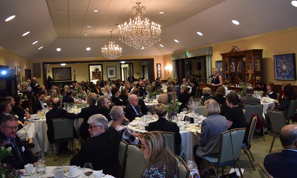 100th anniversary banquet attendees
