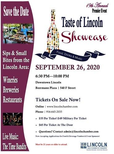 Showcase Flyer