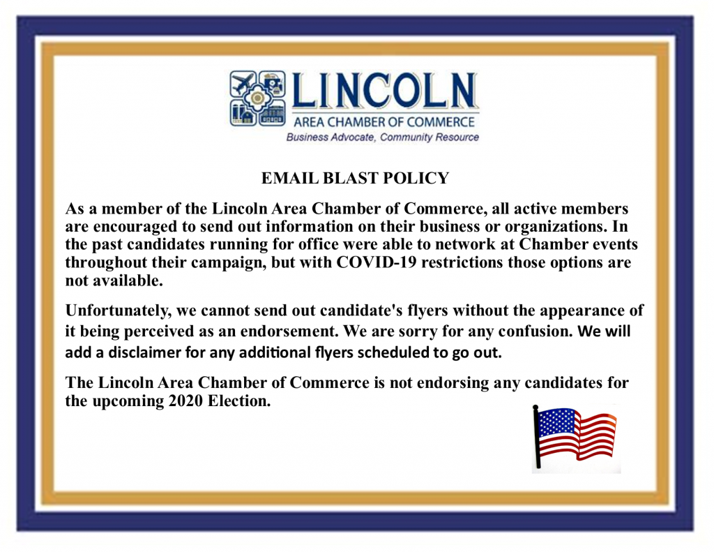 Email Blast Policy 10.22.2020