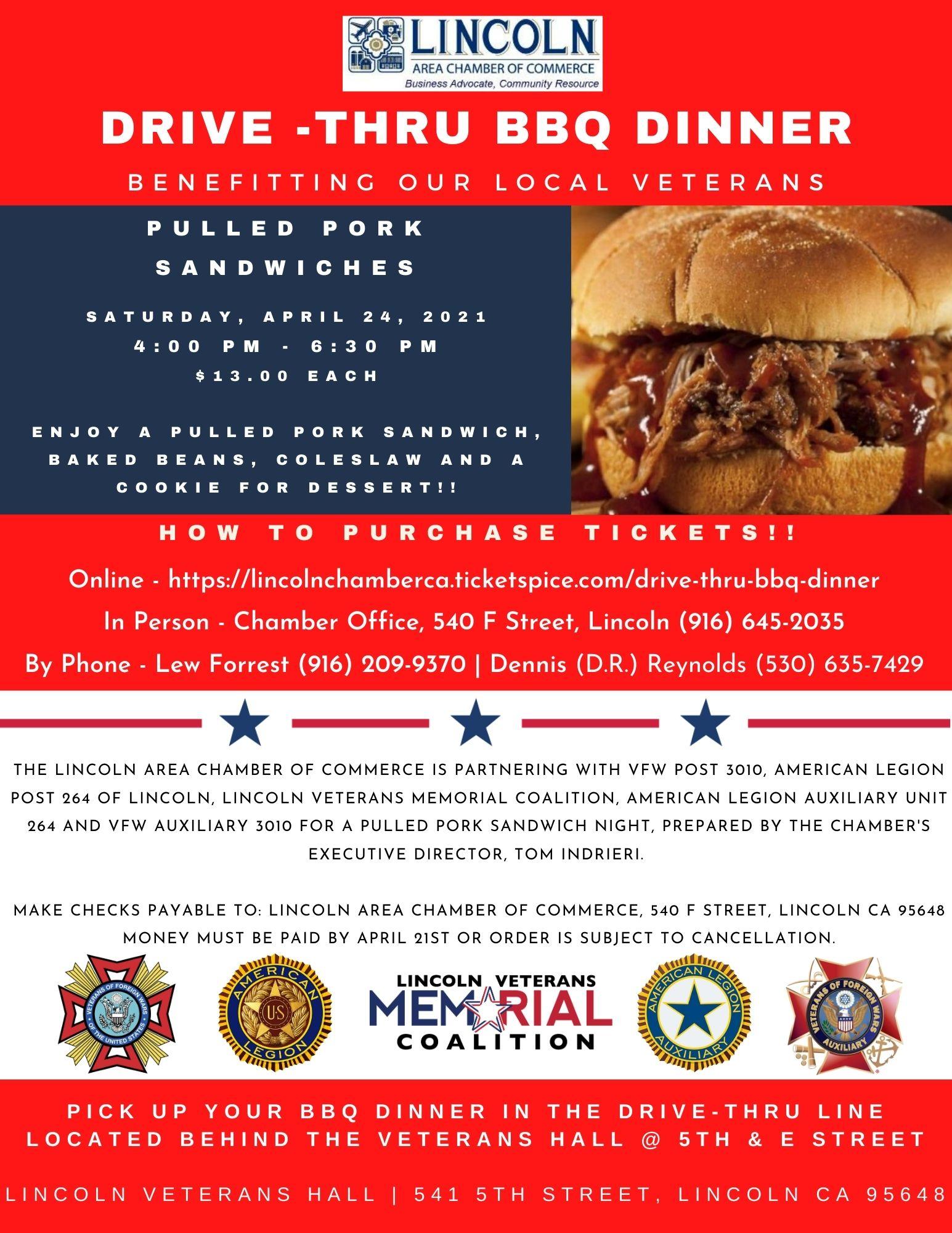 April 24th Veterans BBQ