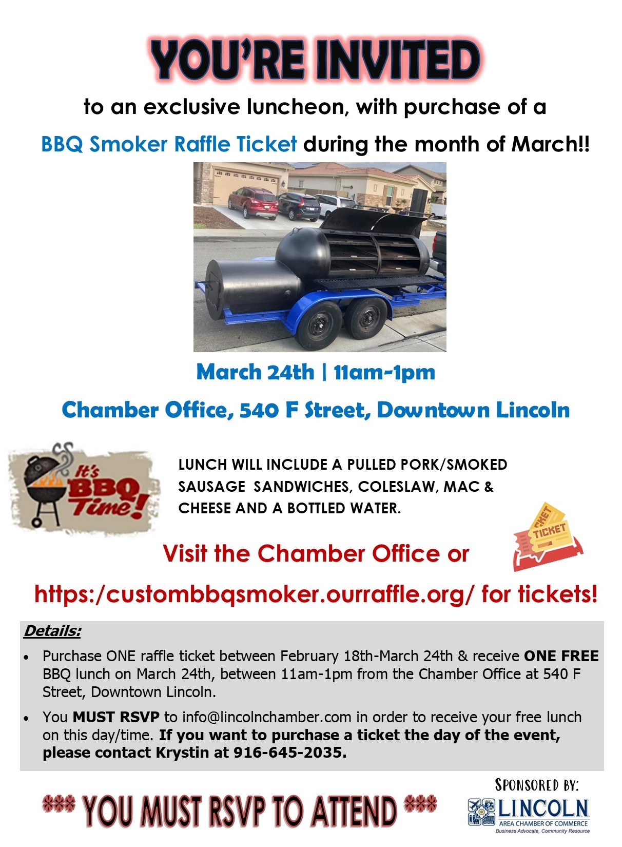 March 24th Luncheon