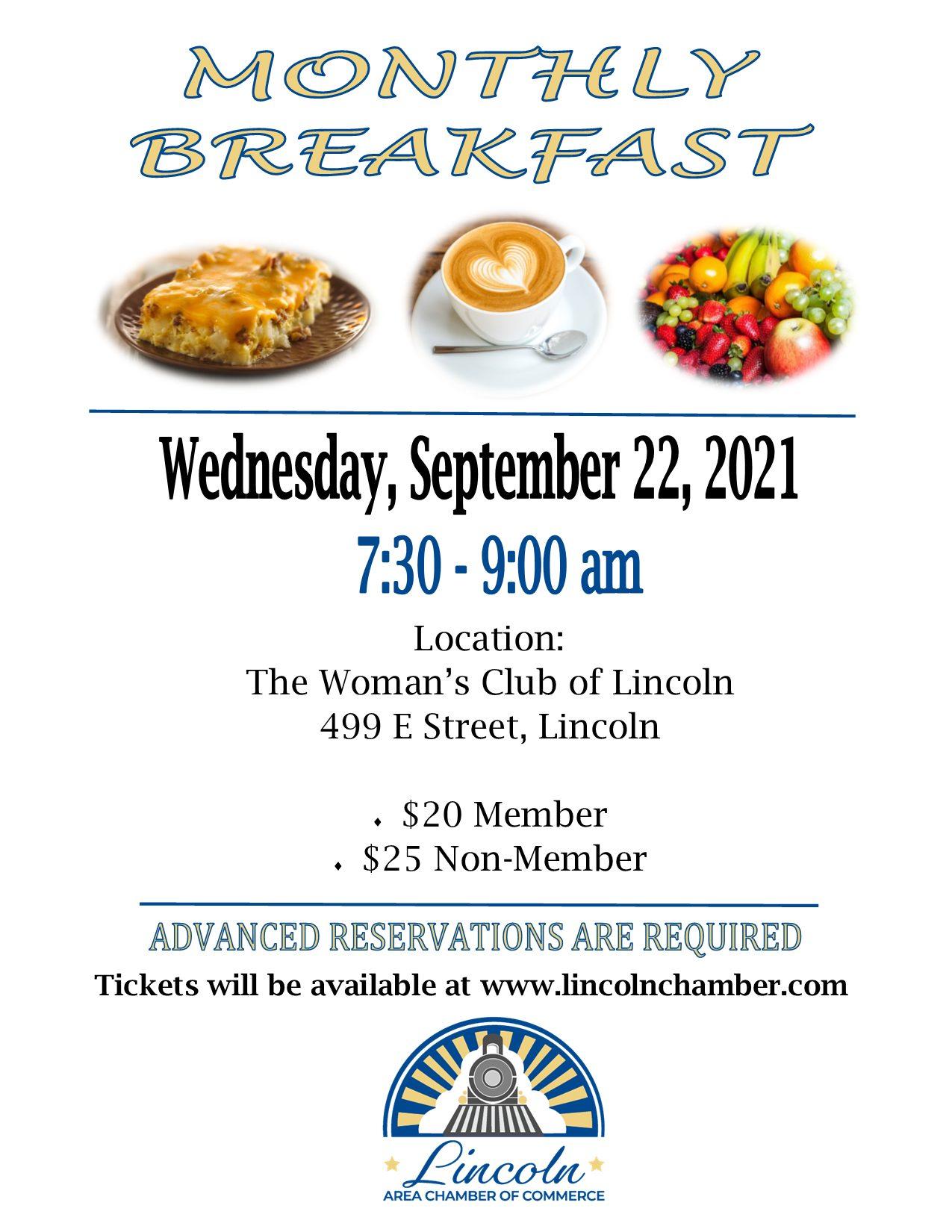 Sept. 22nd breakfast flyer