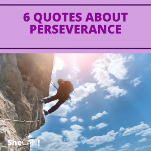 The SheCAN! Network - 6 quotes about perseverance