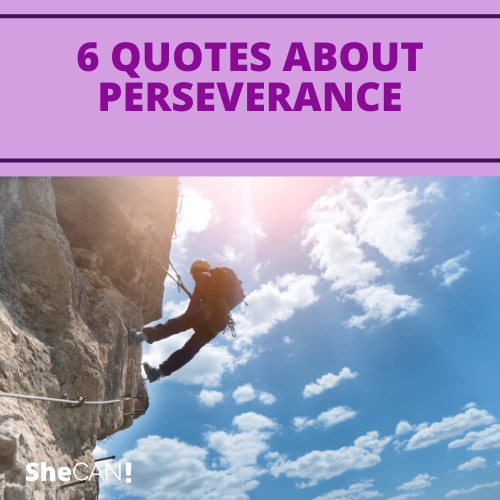 6 quotes about perseverance